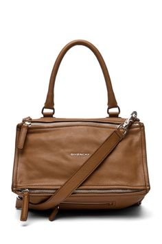 6565ccae33b9 GIVENCHY Medium Pandora Handbag in Light Brown Givenchy Pandora Medium