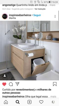 Sink, Vanity, Bathroom, Home Decor, Stay At Home, Houses, Vessel Sink, Powder Room, Sink Tops