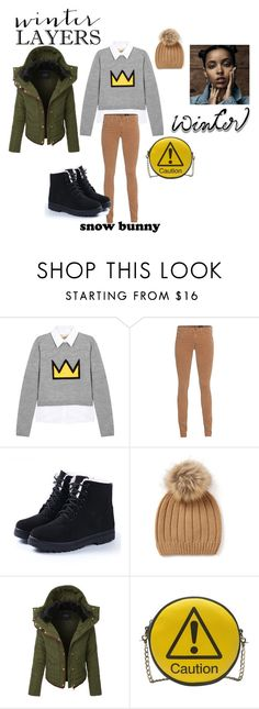 """Sundance"" by styluxesuite on Polyvore featuring Alice + Olivia, AG Adriano Goldschmied, LE3NO, Melie Bianco, topic, StyleDiary, sundance and styleluxesutie"