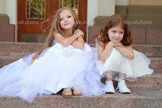 Girls Dresses, Flower Girl Dresses, Beautiful Bride, Stock Photos, Wedding Dresses, Inspiration, Fashion, Vestidos, Young Boys