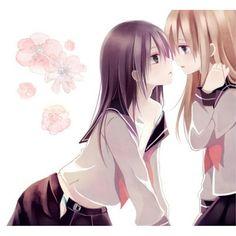 Feels like my insides are on fire. • No Problem. • ... • Just take my hand. • Hum... Arigato. • #anime | #animeyuri | #yuri | #yurikawai | #yuriworld | #iloveyuri | #animenew | #animeworld | #newanime | #newwold | #cute | #kawai | #manga | #animemanga | #animekawai | #mangayuri | #socute | #tomodachi | #friends | #takemyhand | #kiss | #lesbian | #girlxgirl | #otaku | #sad