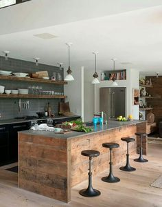 Textural kitchen