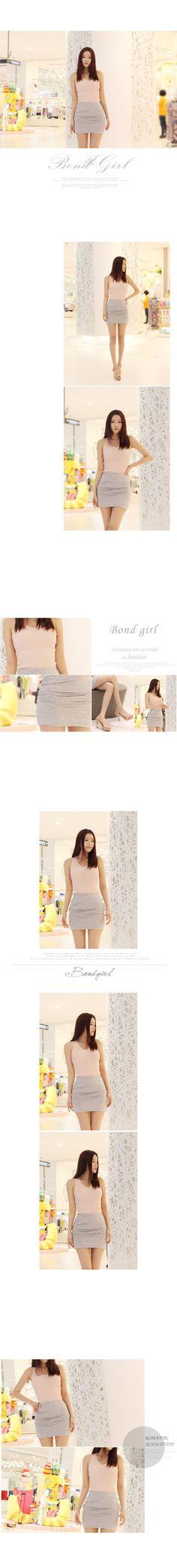 BOND GIRL sleeveless shirt 1070826 < 앙트 나시 < FASHION / CLOTHES < WOMEN < T-SHIRT < sleeveless shirt