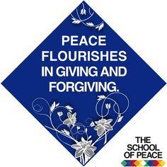 ........................................ #theschoolofpeace #peace #peaceful #peaceofmind #innerpeace #give #forgive