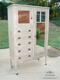B.E. Interiors: Finished Armoire & Furniture Refurbishing: Part II