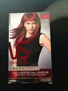 VS Salonist hair dye