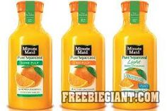 $.75 Off Minute Maid Pure Squeezed Orange Juice-Printable Coupon - http://freebiegiant.com/75-off-minute-maid-pure-squeezed-orange-juice-printable-coupon/ You can get a coupon that gives you $.75 off any Minute Maid Pure Squeezed Orange Juice, but you must be a US resident to use this coupon.  If you would like to get your $.75 off Minute Maid Pure Squeezed Orange Juice coupon, you can click here to print. You must purchase a 59 fl oz. bottle in...