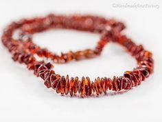 Trendy Fashion Charming Lovely Cute Exclusive Elegant Genuine Baltic Amber - Succinite Handmade Necklace BIZ1464