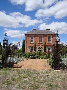 Bell's Mansion, Dunolly, Victoria. This 2 storey Georgian house is commonly known as Bell's Mansion in reference to the owner, politician James Bell; its other name is the little used Belleview. It was built in 1869 and designed by a local store keeper, Thomas Tyrer, who owned a fancy goods store and tobacconist shop in Broadway (Dunolly).
