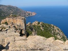 Les Calanche de Piana : le château-fort / Corse