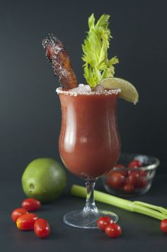 Candied Bacon Bloody Mary | Wishes and Dishes