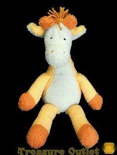 Manhattan Toy Stuffed Plush Beanie Peabodies Gabriella Giraffe 19in