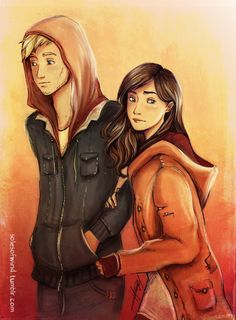 "alexbracken: solesofwind: Liam Stewart and Ruby Daly from ""The Darkest Minds"" :) Ahhhhhhhhhhhhhhhhhhhhhhh! LOVE!"