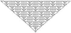 lo spazio di lilla: Scialli crochet con schemi gratuiti / Free crochet shawls diagrams