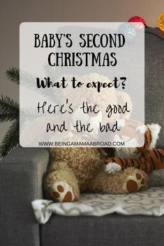 What to expect on baby's second Christmas? Your little one is going to be a lot more active at this stage, that's a given. There are good and bad points too Mindful Parenting, Parenting Advice, Christmas Baby, Christmas Ideas, Autistic Children, Xmas Presents, Baby Hacks, First Baby, Baby Sleep