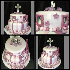 A special christening cake for a 13 year old