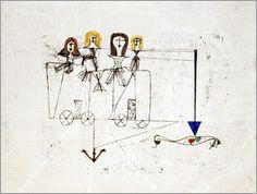 Paul Klee - The Virtue Wagon