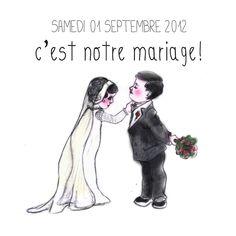 <3 Dessins Couple #Mariage <3