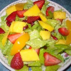 The Really Good Salad Recipe with Pieces of Fruit Allrecipes.com