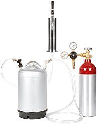 Christmas deals week Nitro Coffee Cold Brew Coffee Keg Kit - 3 Gallon Keg Aluminum Nitrogen Tank Tap Accessories