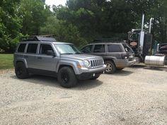 Lifted Jeeps, Jeep Patriot, Cars, Vehicles, Autos, Automobile, Car