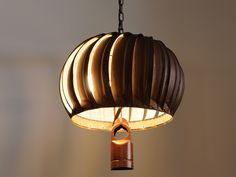 Repurposed rustic roof ventilator pendant light. I know I can make one of these. $179