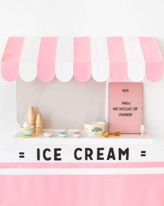 Ice Cream Truck Wall DIY   Oh Happy Day! #diy #kidsparty