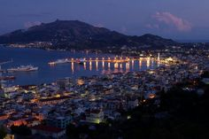 GREECE CHANNEL   Zakynthos at night