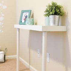 Narrow Side Table fr