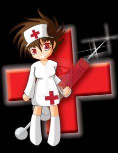 Chibi Nurse by fallen-stormcloud.deviantart.com on @deviantART