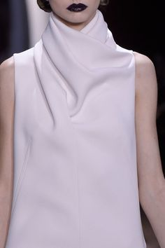 All white on the Christian Dior runway at Paris Fall 2016 (Photos)