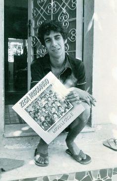 Zeca Pagodinho, aos 28 anos, 1987