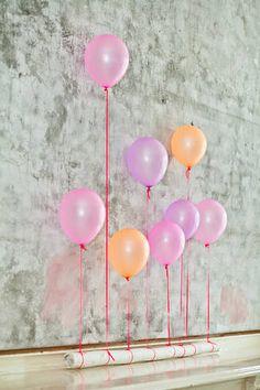 Coole Luftballon-Deko!