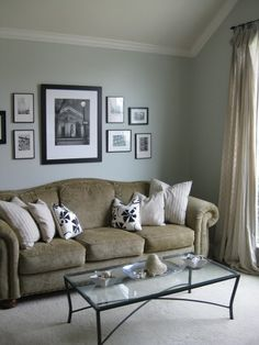 Glidden Polished Limestone - Bedroom color