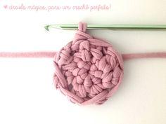 Aula de crochê: Como fazer um círculo mágico