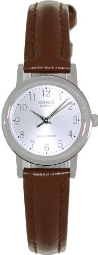 Casio Women's Leather Strap watch #LTP-1095E-7B - http://www.specialdaysgift.com/casio-womens-leather-strap-watch-ltp-1095e-7b/
