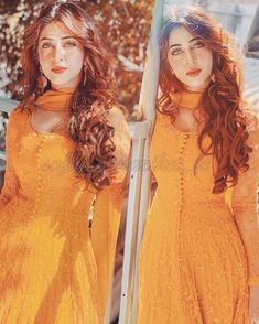 Sonarika Indian Look, Dress Indian Style, Indian Dresses, Stylish Dresses For Girls, Simple Dresses, Salwar Dress, Anarkali, Sonarika Bhadoria, Trendy Suits