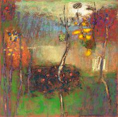 "71-14 | pastel on paper | 14 x 14"" | 2014"