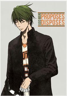 "Midorima Shintaro ""Man proposes, God disposes"""