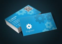 Check out Engineer Business Card + Bonus by Rafael Oliveira on Creative Market