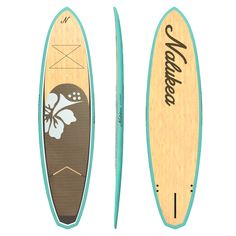 Designer's stand up paddle board, Nalukea Cruiser Turquoise. It's stunning! SUP Boards, Stand Up Paddle Boarding, Cute SUPs