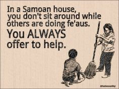 If I date another Non-Samoan girl - she will be informed of this on the first date. LOL