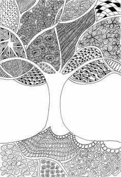Zentangles Patterns                                                                                                                                                                                 Plus