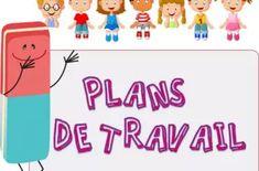 PLANS de TRAVAIL différenciés CE1