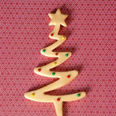 Christmas Trees with Dots - Gold