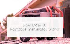 How Does a Portable Generator Work?   How Does a Portable Generator Work?  Portable generators are commonly used during power outages to keep certain elements of your home or commercial property runs continuously until the power is restored. At home these items may include refrigerators lighting and heaters. There are many sizes of generators in myanmar some small and some large. Portable generators are generally more for home or small business. They just need to be connected to the house…
