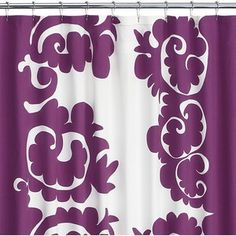 Marimekko Samovaari Berry Shower Curtain