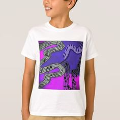 #Music notes and brilliant colors create a dancing T-Shirt - #cool #kids #shirts #child #children #toddler #toddlers #kidsfashion