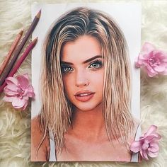 Drawing People Grab Your Hair Ties: 45 Incredibly Cute Ponytail Ideas Pretty Drawings, Amazing Drawings, Realistic Drawings, Beautiful Drawings, Cool Drawings, Amazing Art, Interesting Drawings, Cute Ponytails, Celebrity Drawings