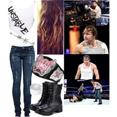 """Being Crazy With Dean Ambrose!"""